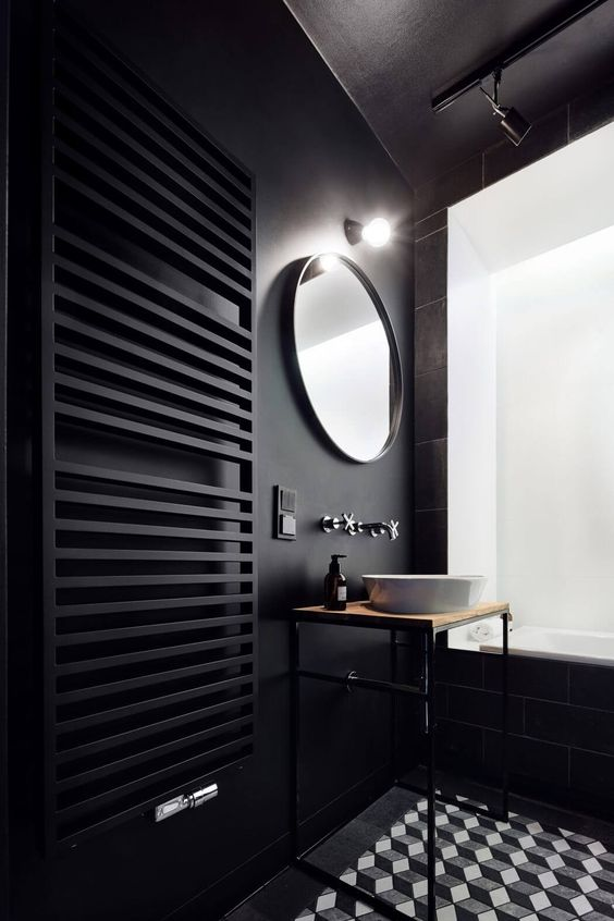 zwarte-badkamer-ideeën
