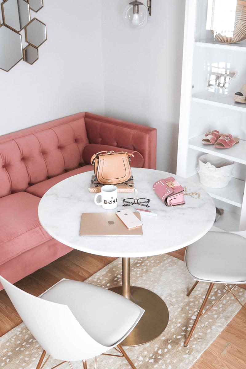 Spring-Blogger-Office-Marble-Pink-Velvet-04