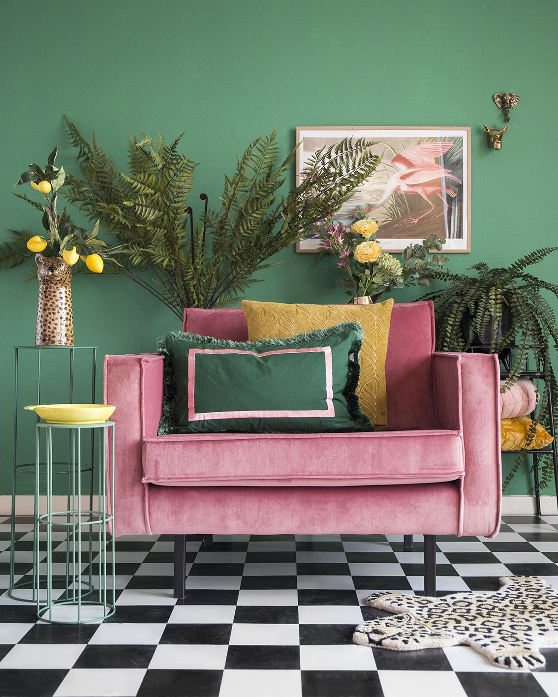 velvet-fauteuil-roze